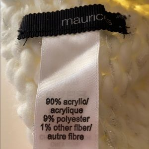 Maurices Other - Maurices Stocking hat cream with sparkle.
